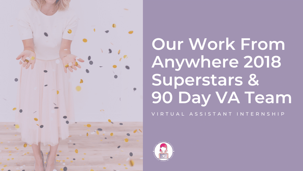 work from anywhere virtual assistant online superstars vai team