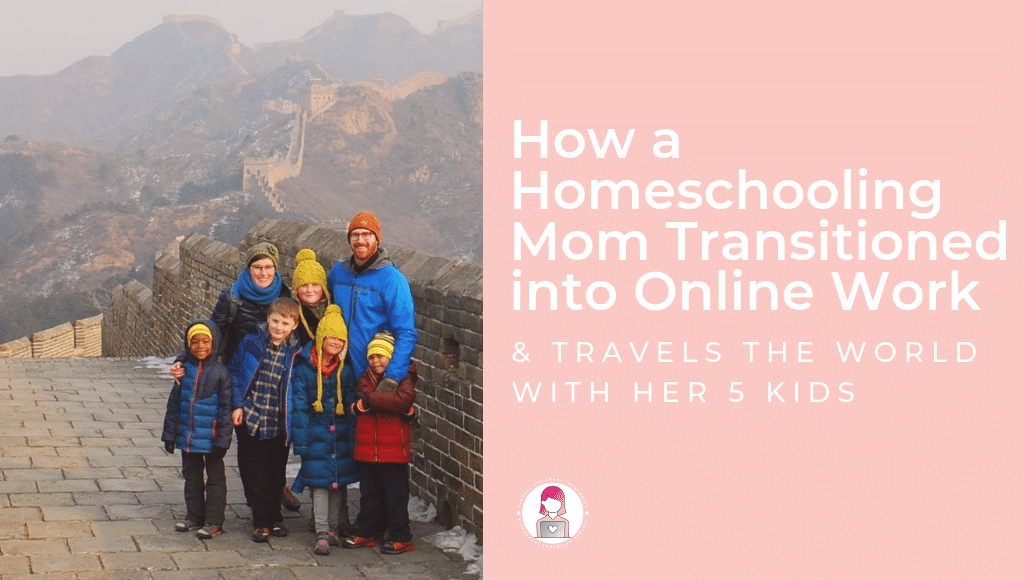 homeschool mom online work virtual assistant andie